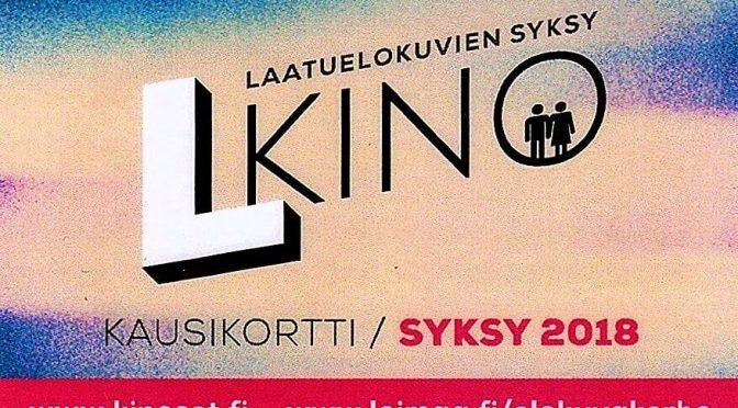 Loimaalla Kineman elokuvakerho L-kinon syyskausi 2018 on alkanut
