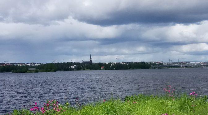 Rovaniemi kesäkuussa